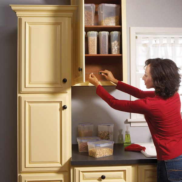 Kitchen Cabinet Install: Home Repair: How To Fix Kitchen Cabinets