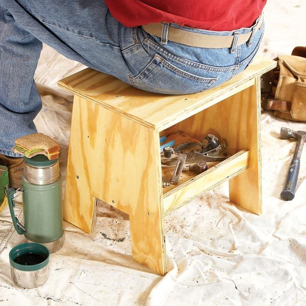 How To Build A Small Bench The Family Handyman