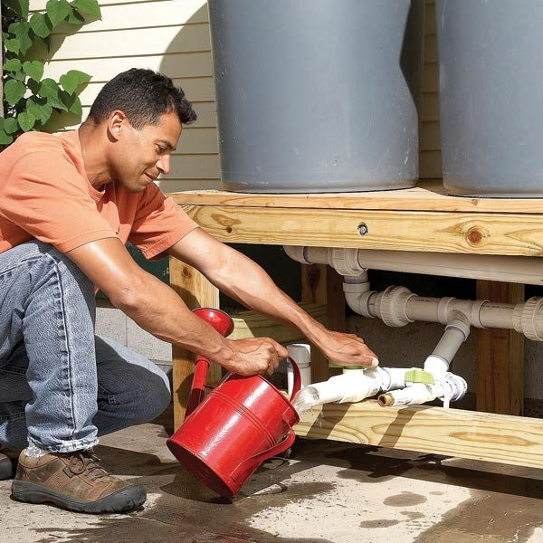 How To Build A Rain Barrel The Family Handyman