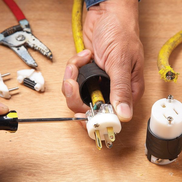 How To Repair A Cut Extension Cord
