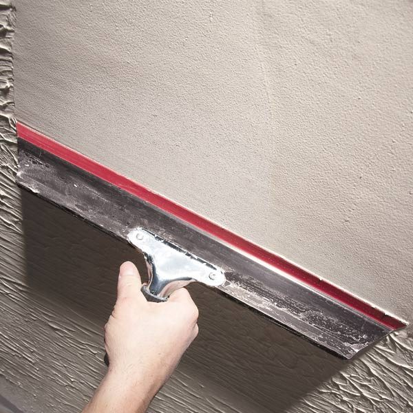 Smoothing Paint Build Up On Walls