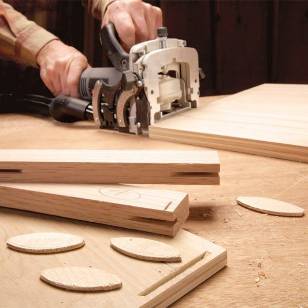 Building Cabinets With Biscuit Joints | The Family Handyman