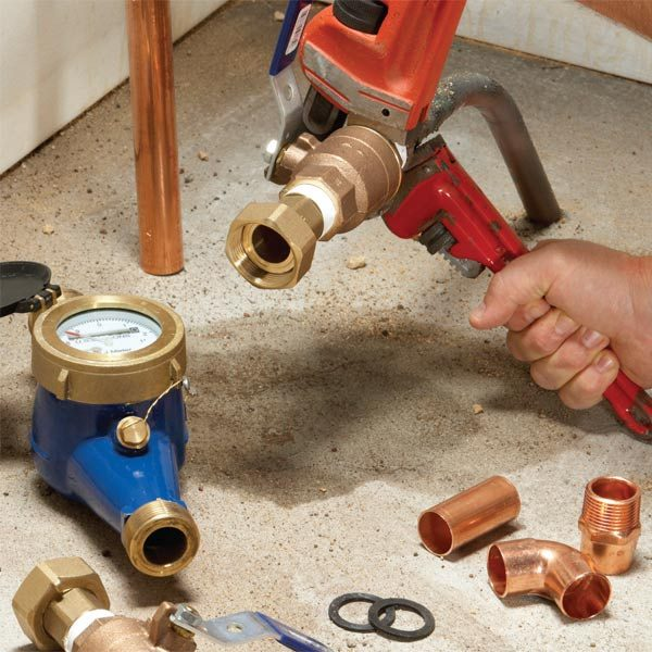 Water Pipe Replacement Cures For Low Water Pressure The