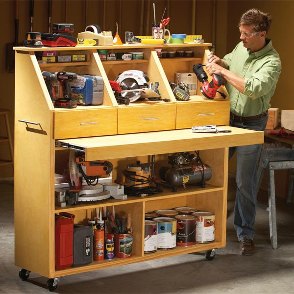 The Family Handyman The Family: Grab-and-Go Tool Storage