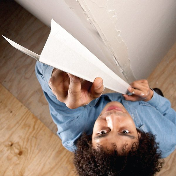 Sheetrock Corner Bead Installation : How to install paper faced corner bead the family handyman