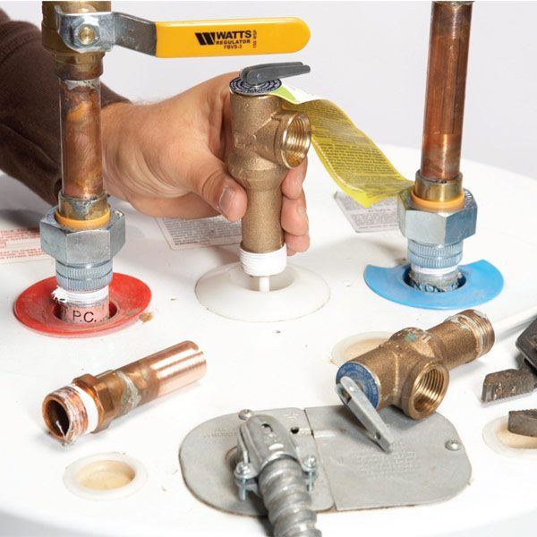 Water Heater Repair How To Replace The Tpr Valve The