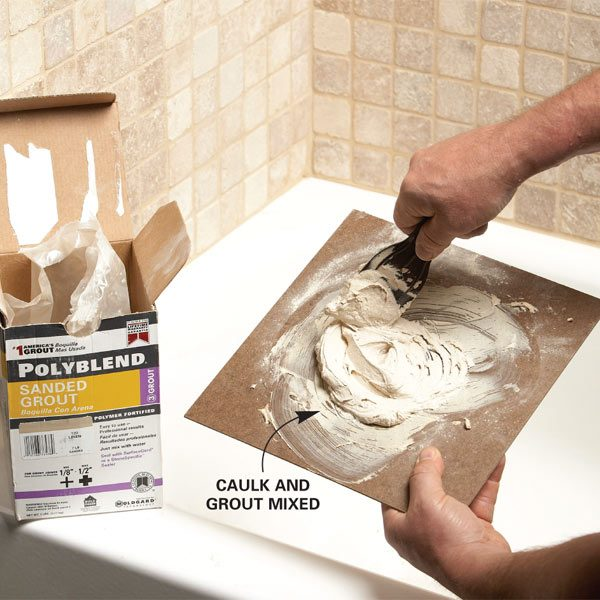 Matching Grout Colors And Caulk Colors The Family Handyman