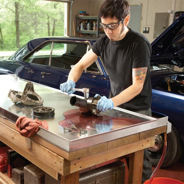 Upgrading Your Garage Workshop The Family Handyman