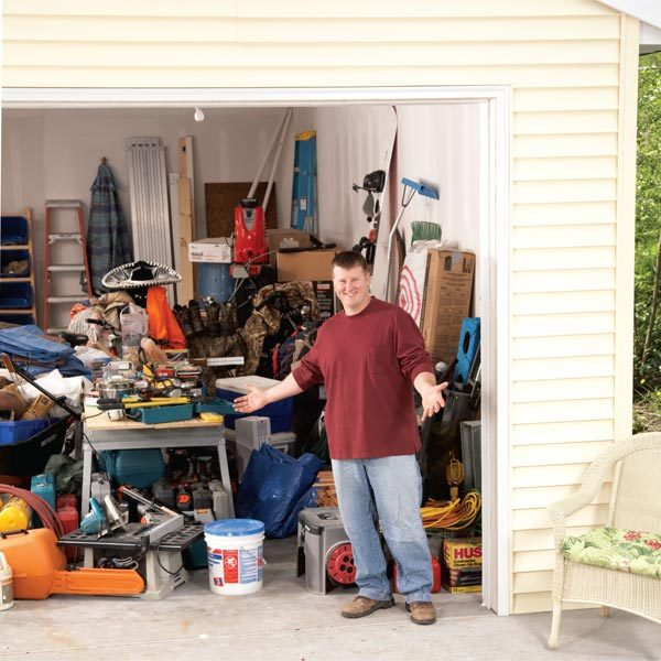 Garage Organization Shelving: Building A Garage Storage Wall