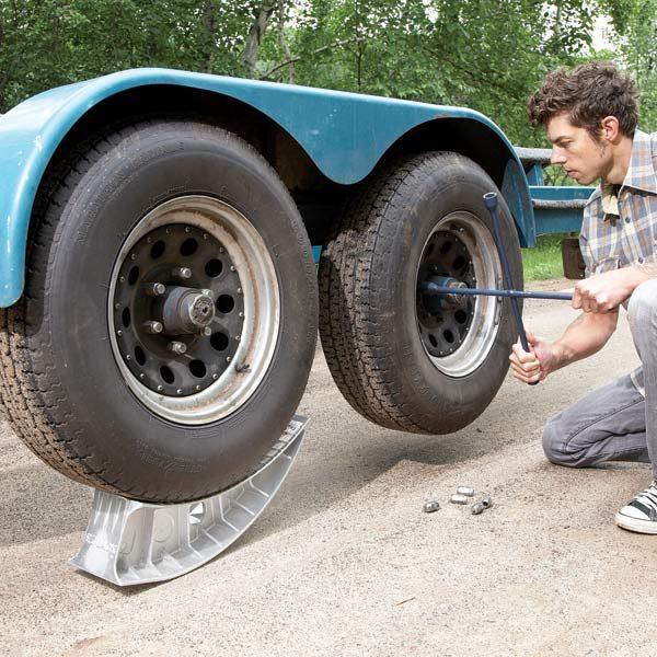 Change A Tire Two Jacks Make It Easy The Family Handyman