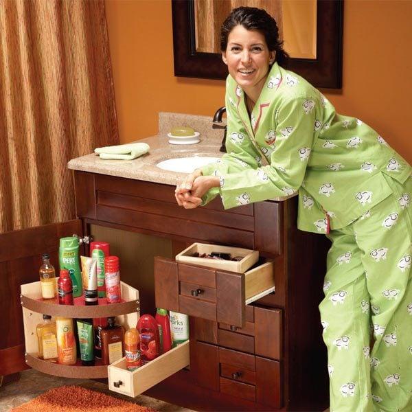 Bathroom Vanity Storage Upgrades The Family Handyman