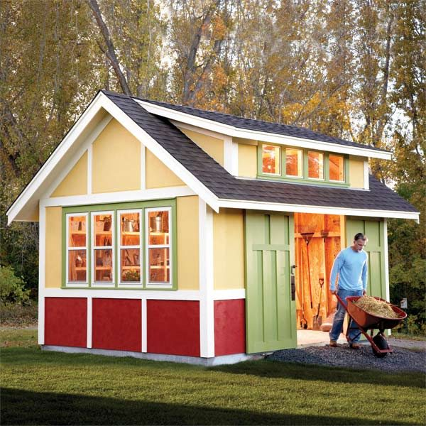 Shed Plans Storage Plans The Family Handyman