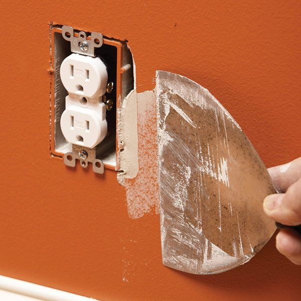 electrical box drywall 2