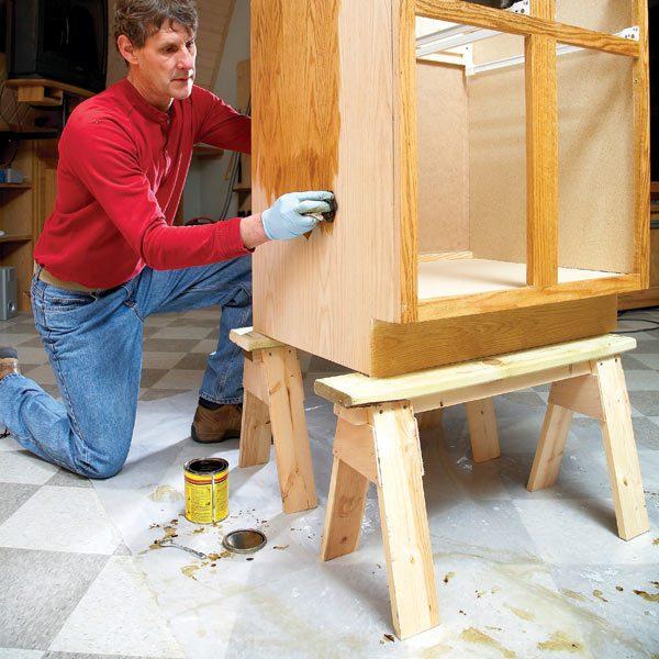 The Family Handyman The Family: How To Build Small Sawhorses