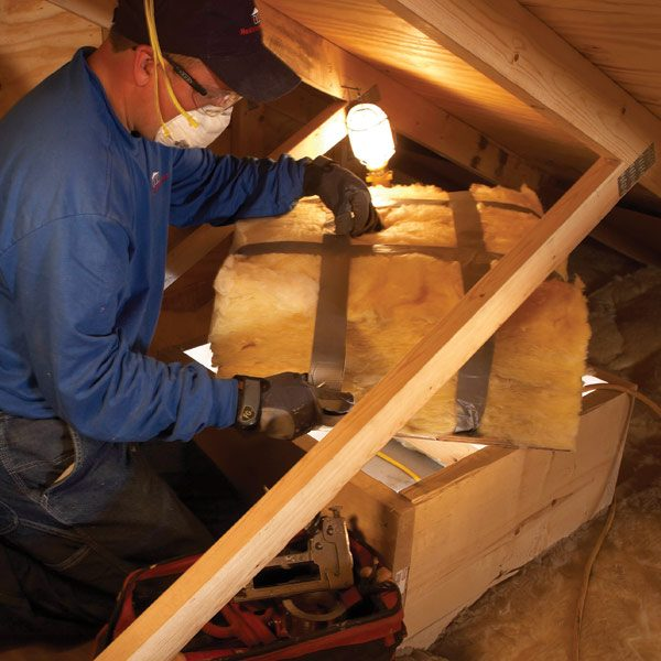 How To Insulate An Attic Door The Family Handyman