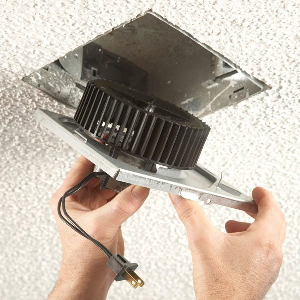 How to Install an Exhaust Fan Bathroom  The Family Handyman