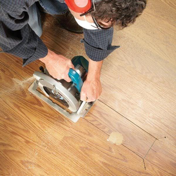 Laminate Floor Repair The Family Handyman