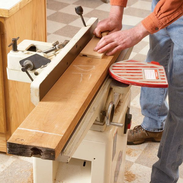 How to plane rough lumber the family handyman for Handyman plans