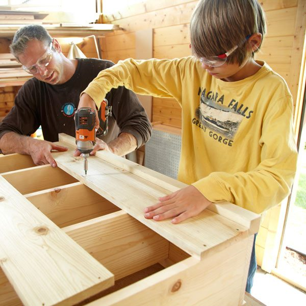 ... way to teach your son or daughter about woodworking and tool use