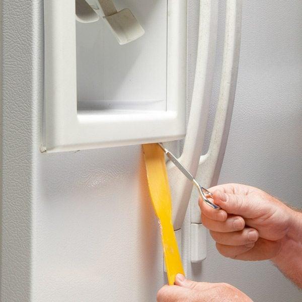 Refrigerator Repair Fix A Broken Water Dispenser Switch