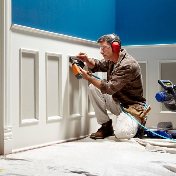 How to Install Wainscoting | The Family Handyman