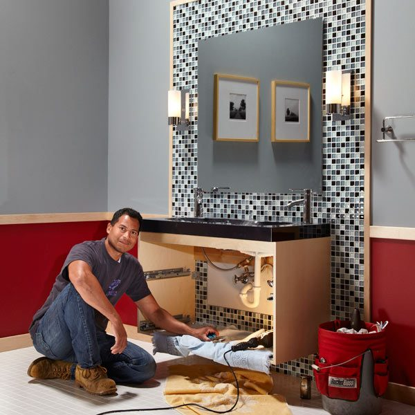 Bathroom Remodel Glass Tile bathroom remodeling: ideas | the family handyman