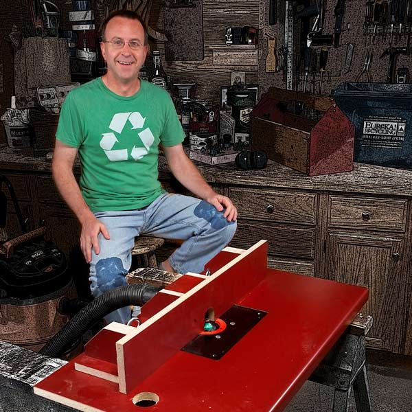 Build A Router Table By Upcycling A Kitchen Countertop