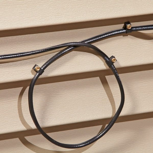 How To Run Wire Through A Wall To Avoid Water Leaks The Family Handyman