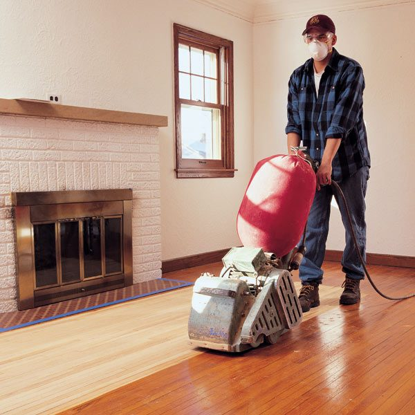 Do It Yourself Home Design: Hardwood Floor Sanding: Do It Yourself Tips: The Family