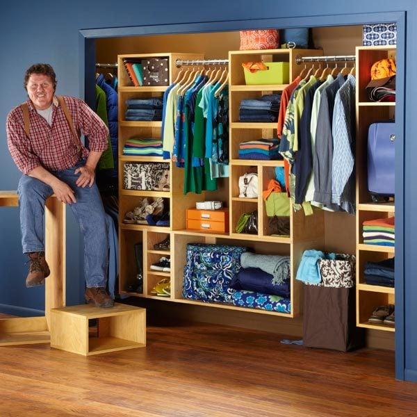 The Family Handyman The Family: Organization: The Closet