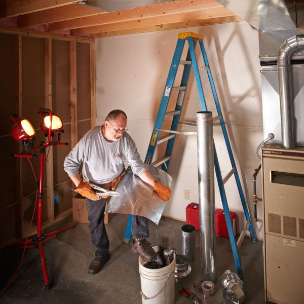Round Ductwork Installation Tips The Family Handyman