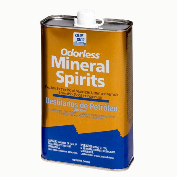 Mineral Spirits Vs Paint Thinner The Family Handyman