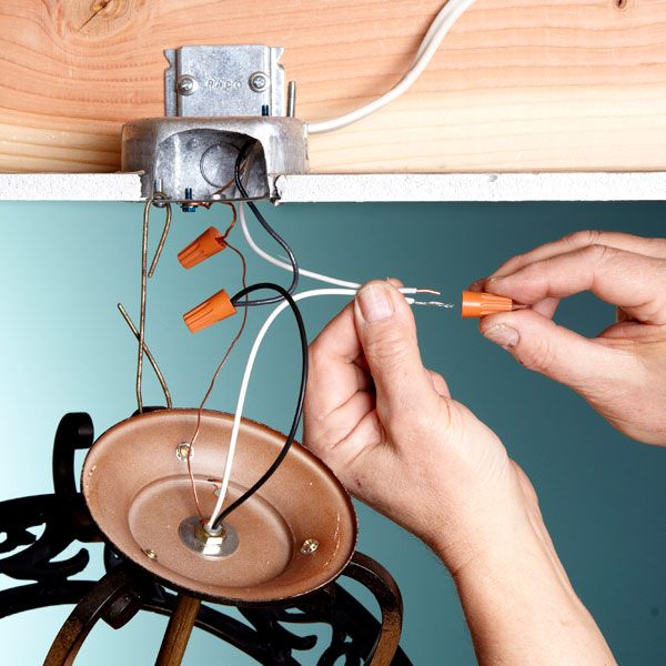 electrical tips replacing a light fixture the family handyman