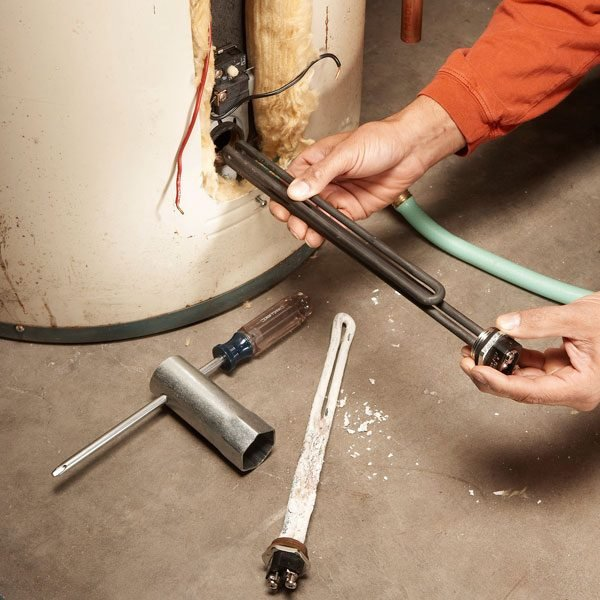 Diy Hot Water Heater Repair The Family Handyman