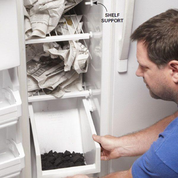 Clean A Stinky Fridge The Family Handyman