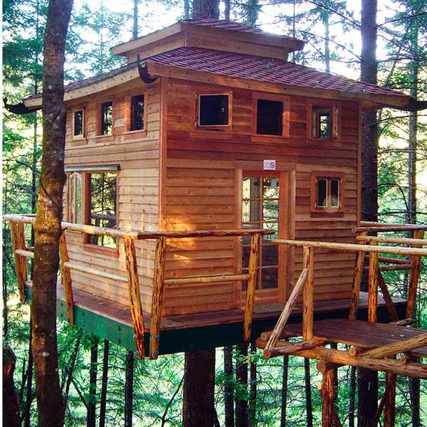 Tree house building tips the family handyman - Tips for building a new home ...