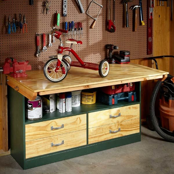 Diy Workbench Upgrades: The Family Handyman