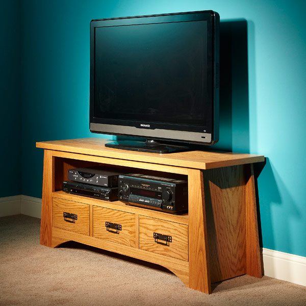 DIY TV Stand | The Family Handyman