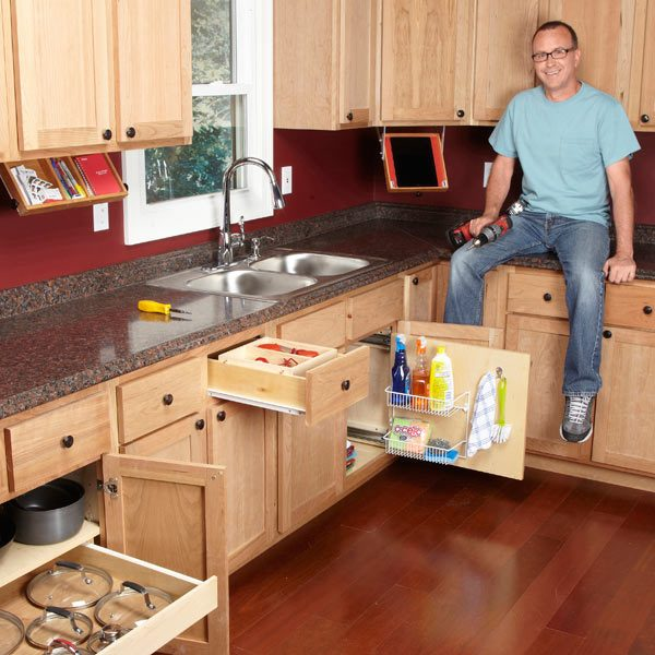 ... How To Organize Kitchen Cabinets And Pantry With Organization Tips For  Your Kitchen The Family Handyman