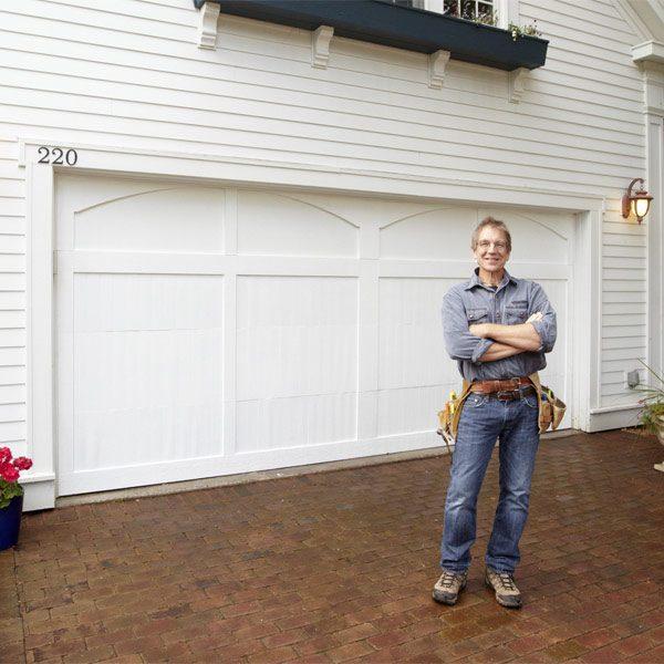 Building My Own Garage Door: Garage Door Makeover