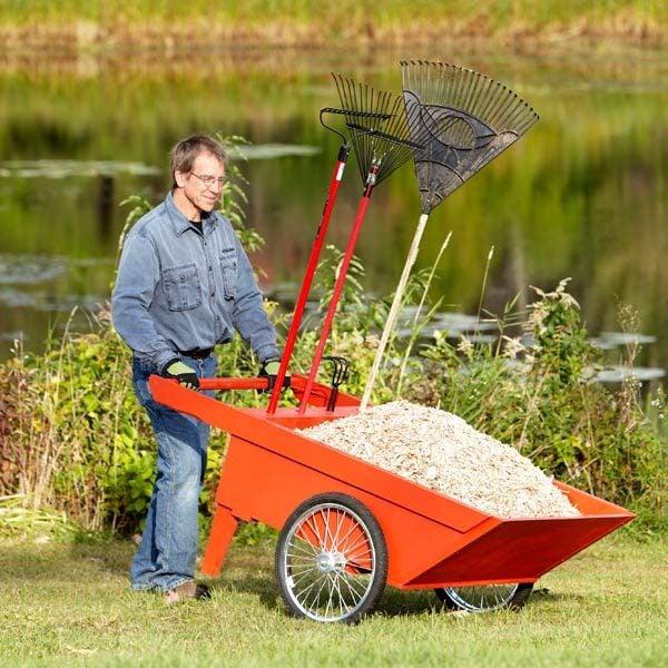 how to make a garden cart