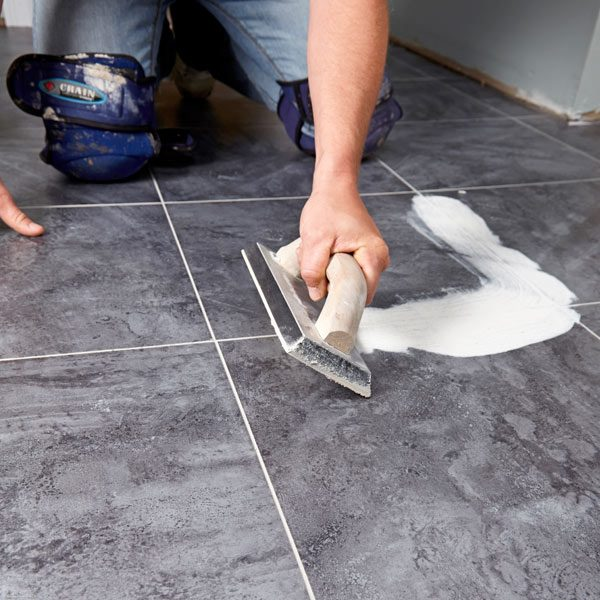 Luxury Vinyl Tile Installation | The Family Handyman