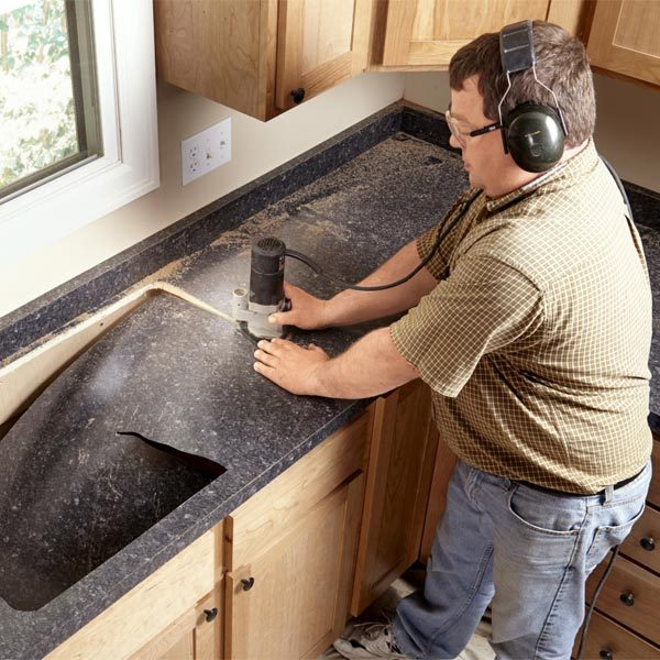 Installing Laminate Countertops : Installing Laminate Countertops The Family Handyman