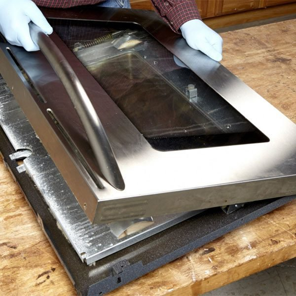 How To Clean Oven Door Glass The Family Handyman