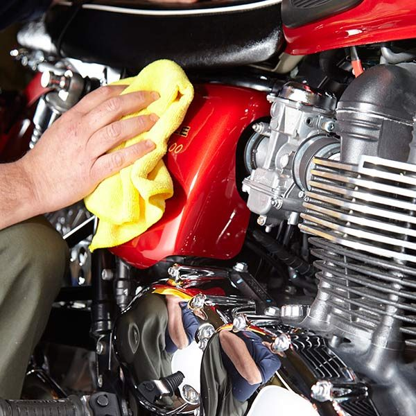 Motorcycle Detailing Tips The Family Handyman