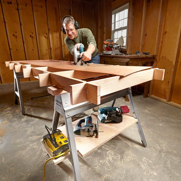 Maximize Your Sawhorses The Family Handyman