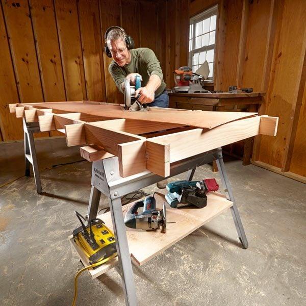 Maximize Your Sawhorses The Family Handyman