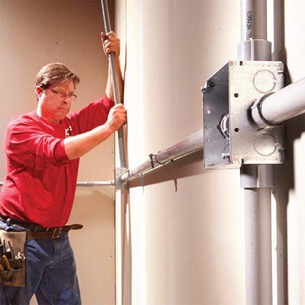Installing PVC Conduit