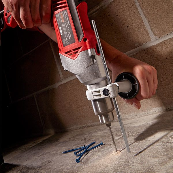 Drilling Into Concrete Tools Rotary Hammers And Hammer