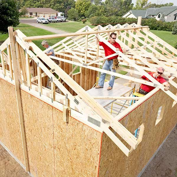 framing a garage